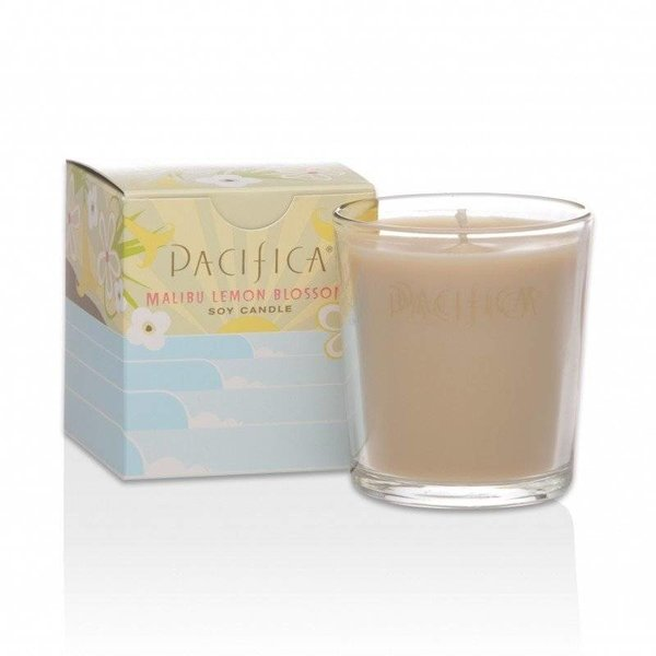 Pacifica Pacifica Soy Candle Malibu Lemon Blossom