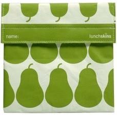 lunchskins Lunchskins Green Pear Sandwich Bag