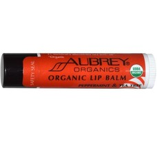 Aubrey Aubrey Treat 'em Right Lippenbalsem Peppermint & Tea Tree (2 stuks)