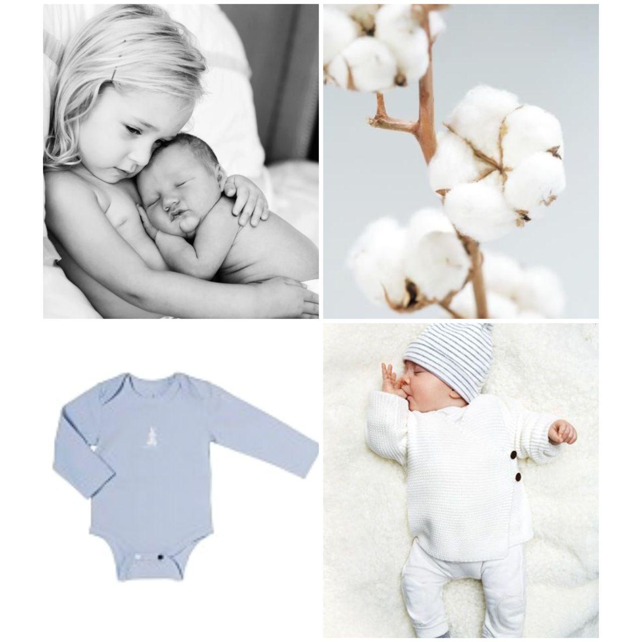 Biologisch katoen voor de gevoelige babyhuid