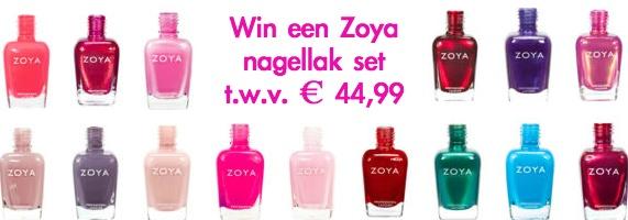Win een Zoya nagellak set bij Nutur!