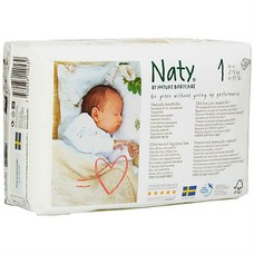 Naty Luiers Luiers 1 Newborn (2-5 kg)