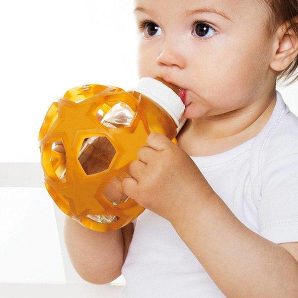 Hevea Speen / Badeend Hevea Zuigfles glas met bal