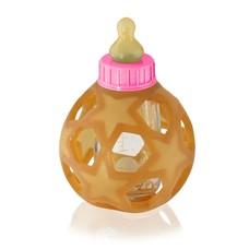 Hevea Speen / Badeend Zuigfles glas met bal