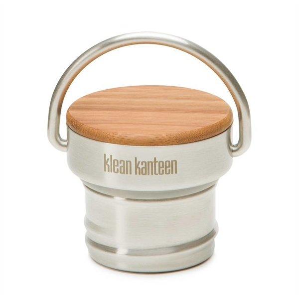 Klean Kanteen- rvsdrinkfles/ waterfles Klean Kanteen Bamboe dop