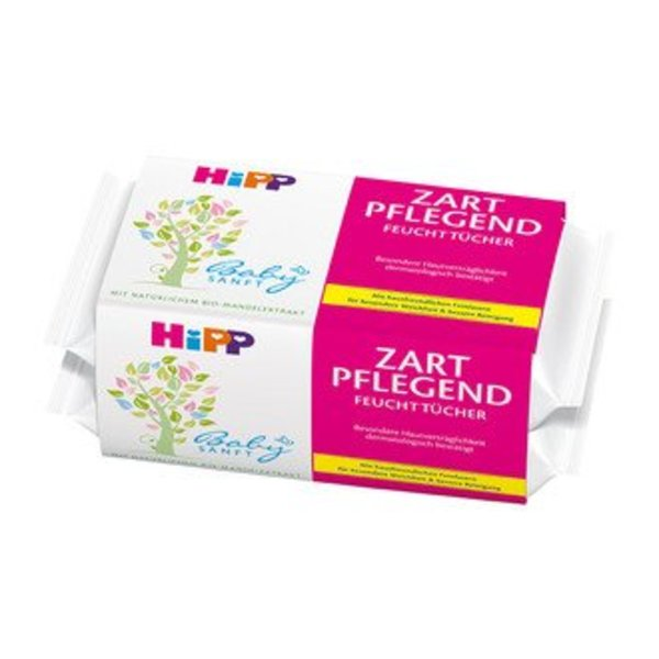 HiPP HiPP Bio Billendoekjes 2-pack