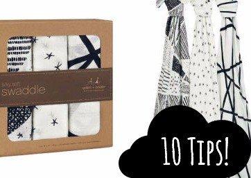 10 dingen waar je Aden + Anais doeken voor kunt gebruiken