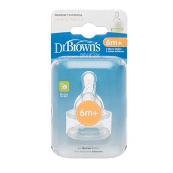 Dr Brown's Fles Dr. Brown's fles fase 3 speen voor standaardfles