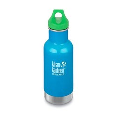 Klean Kanteen - rvs drinkfles / waterfles Kid Kanteen thermos drinkbeker 355 ml blauw