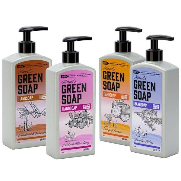 Marcel's Green Soap Marcel's Green Soap Handzeep Sandelhout & Kardemom