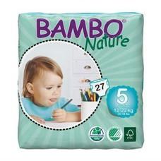 Bambo Luiers Maat 5 Junior (12-22 kg) 27 stuks