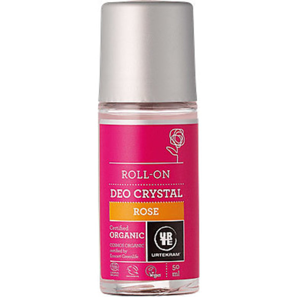 Urtekram Urtekram Deodorant roll on Rozen Crystal
