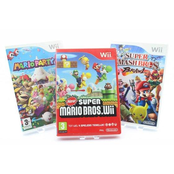 Wii Games Gebruikt