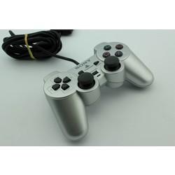 Sony Computer Entertainment PS2 Controller (Dual Shock 2) Zilver (Origineel) [Gebruikt]