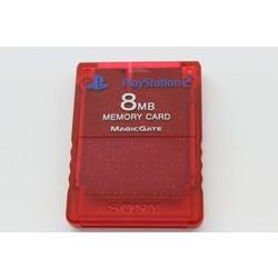 Sony Computer Entertainment PS2 Memory card 8Mb (Origineel) Clear Red [Gebruikt]