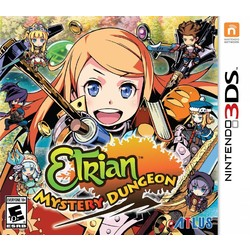 Atlus Etrian Mystery Dungeon - 3DS/2DS