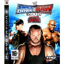 THQ WWE SmackDown! vs. RAW 2008 - PS3