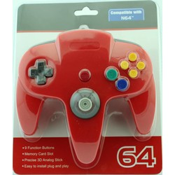N64 Controller (Rood)
