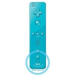 Nintendo Remote Controller (Blauw) - Origineel - Motion Plus - [Gebruikt]