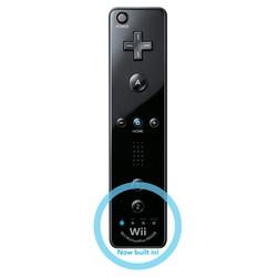 Nintendo Remote Controller (Zwart) - Origineel - Motion Plus - [Gebruikt]