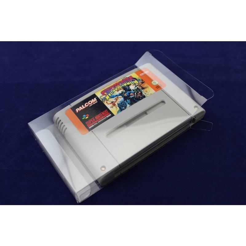 50 x Box Protectors - SNES cartridge