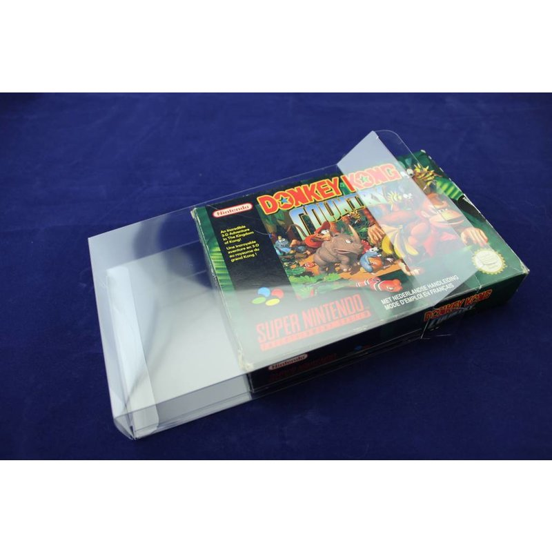 100x Box Protectors - SNES Boxes