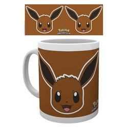 Pokemon - Eevee Face Mok / Mug