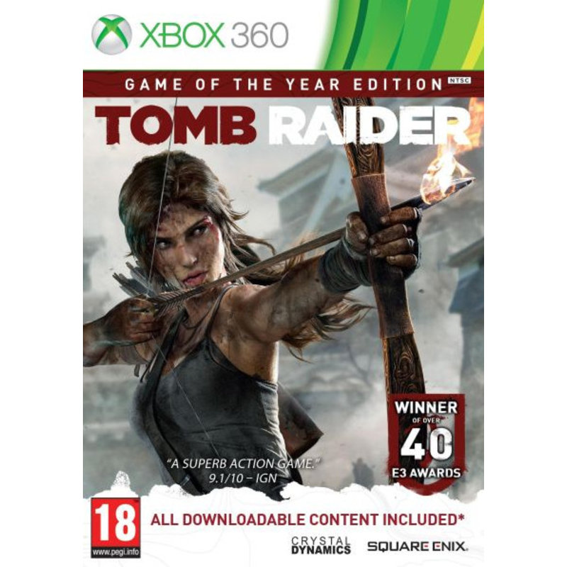 Square Enix Tomb Raider (2013) Game Of The Year Edition - Xbox 360 [Gebruikt]