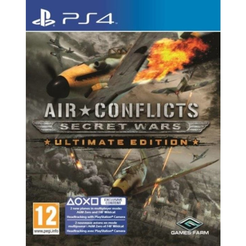 Air Conflicts Secret Wars Ultimate Edition - PS4