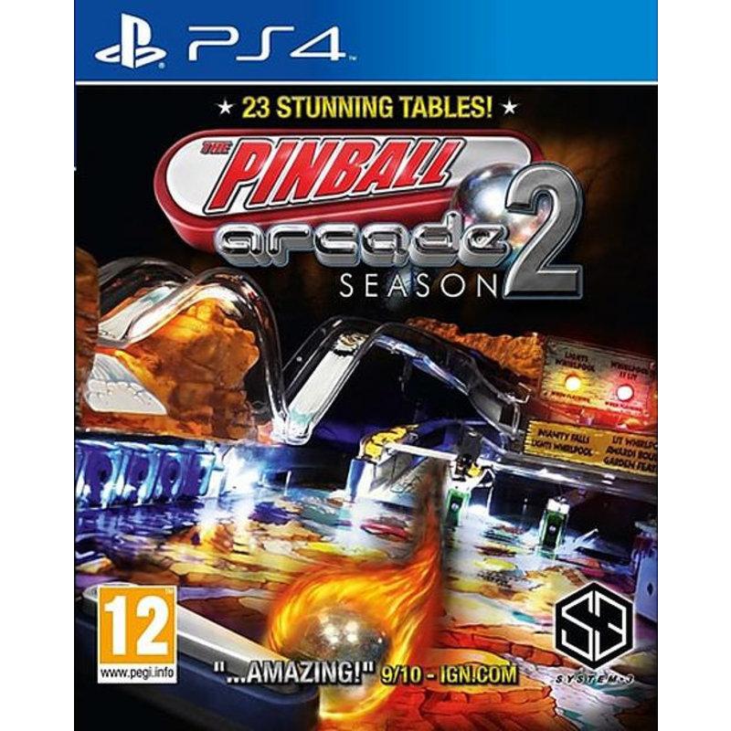 The Pinball Arcade Season 2 - PS4