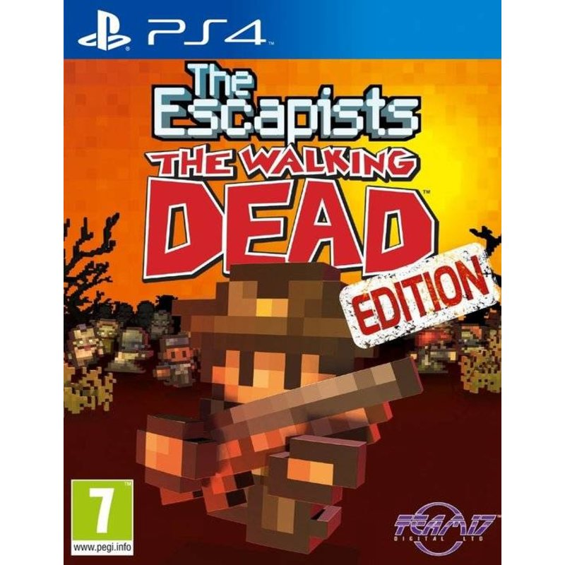 Team 17 The Escapists The Walking Dead Edition - PS4