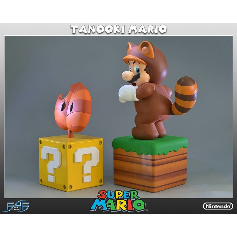 First 4 Figures Tanooki Mario Exclusive