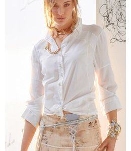 Elisa Cavaletti Short blouse white