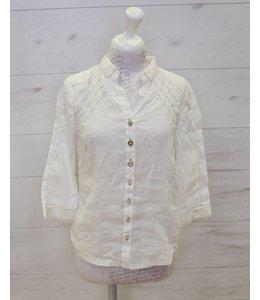 Elisa Cavaletti Short blouse Diafano
