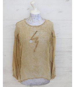 Elisa Cavaletti Romantic shirt-style blouse Martini