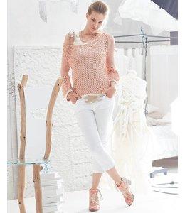 Elisa Cavaletti 7/8 trousers white