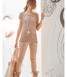 Elisa Cavaletti Pull tricoté Deserto-Bianco