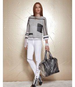 Elisa Cavaletti Short jumper light grey