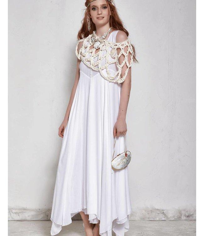 Elisa Cavaletti Long dress white