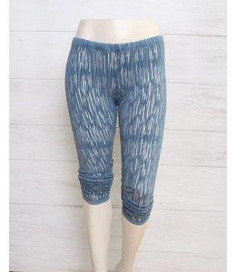 Elisa Cavaletti 7/8 leggings blue