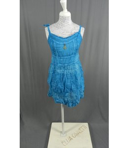 Elisa Cavaletti Dress-Longtop in verwaschenem türkisblau