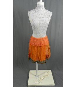 Elisa Cavaletti Minirock rot-orange verwaschen