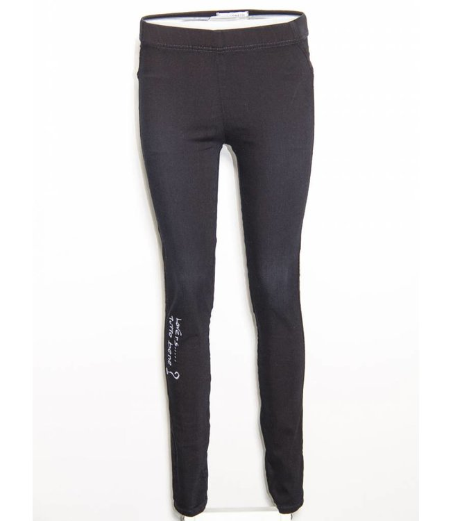Elisa Cavaletti Basic-Jegging Denim Nero