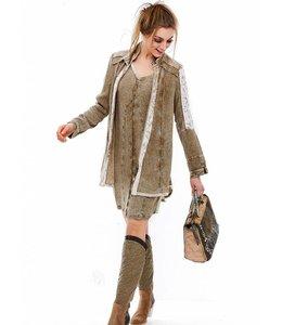 Elisa Cavaletti Long blouse-jacket Infinito
