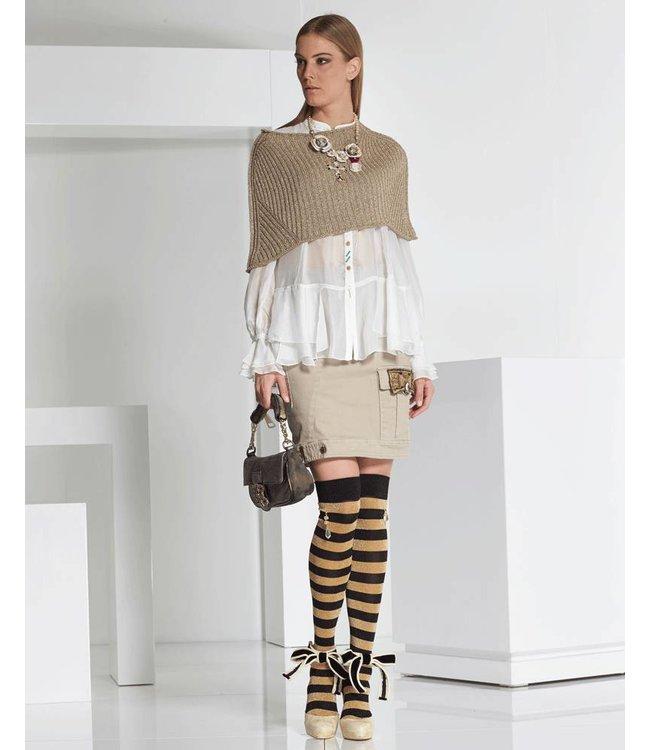 Elisa Cavaletti Skirt beige