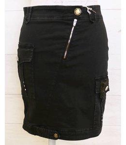 Elisa Cavaletti Faded black skirt