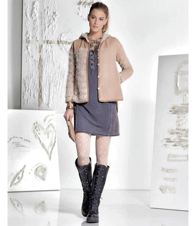 Elisa Cavaletti Jacket antique pink