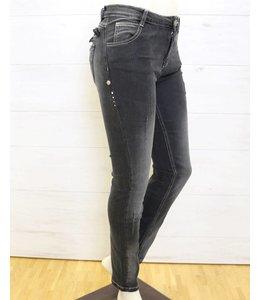Elisa Cavaletti Jeans schwarz verwaschen