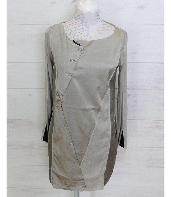 Elisa Cavaletti Dress silver grey