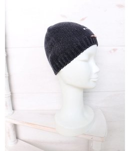 Elisa Cavaletti Knitted cap in dark blue